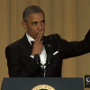 President Obama Drops Microphone on Floor at White House Correspondents' Dinner 2016 – YouTube