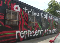 St. Albans Queens Pays Homage To A Tribe Called Quest With Timeless Mural  #RIPPhifeDawg
