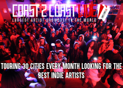 Coast 2 Coast LIVE Adds $50,000 Prize for Top Indie Artist in 2019 The Largest Artist Showcase in the World, Coast 2 Coast LIVE, has just added a $50,000 Cash Prize for the top indie artist of 2019. Cutting through the scams, Coast 2 Coast LIVE offers genuine opportunities for indie artists to win prizes and cash.