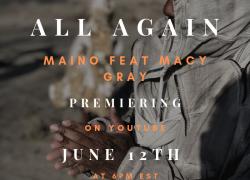 """Maino feat. Macy Gray – """"All Again"""" (Official Video)   @mainohustlehard"""