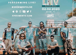 """Miami All Star Band Xperimento to play at SuperBowl LIV Pre Game & releases new video """"Diferente"""""""