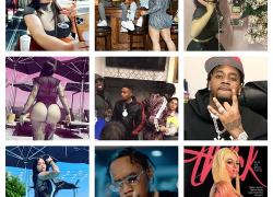 Hip Hop Affair Fivio Foreign and Shameeka Rosario | @FivioForeign @rosarioshameeka @TMZ