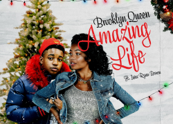 """Our Fave New Holiday Song? Brooklyn Queen x Issac Ryan Brown """"Amazing Life"""""""