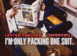 """Lester Sanchez channels his inner Jordan on """"I'm Only Packing One Suit"""" EP   @lesterwav"""