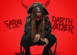 """The Flow Was Crazy by Sarai The Artist on """"Darth Vader"""" @sarai_theartist"""