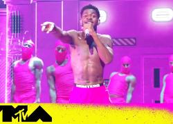 "Lil Nas X ft. Jack Harlow Perform ""Industry Baby"" & ""Montero""   2021 VMAs"