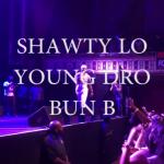 Shawty Lo , Young Dro , Bun B Tabernacle Atlanta  birthdayBash20 #ATL
