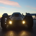The NEW Team Galag Batmobile Gumball 3000 2016