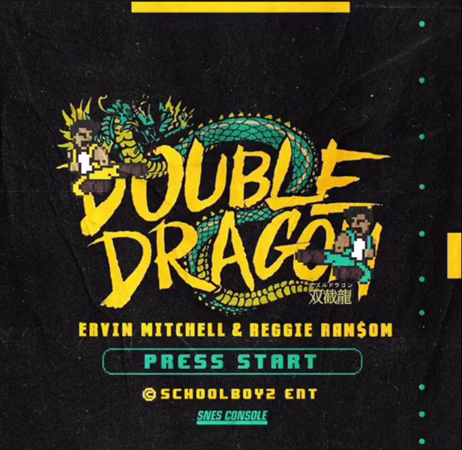 News: Ervin Mitchell & Reggie Ran$om Share Cover Art & Official Tracklist To Double Dragon EP