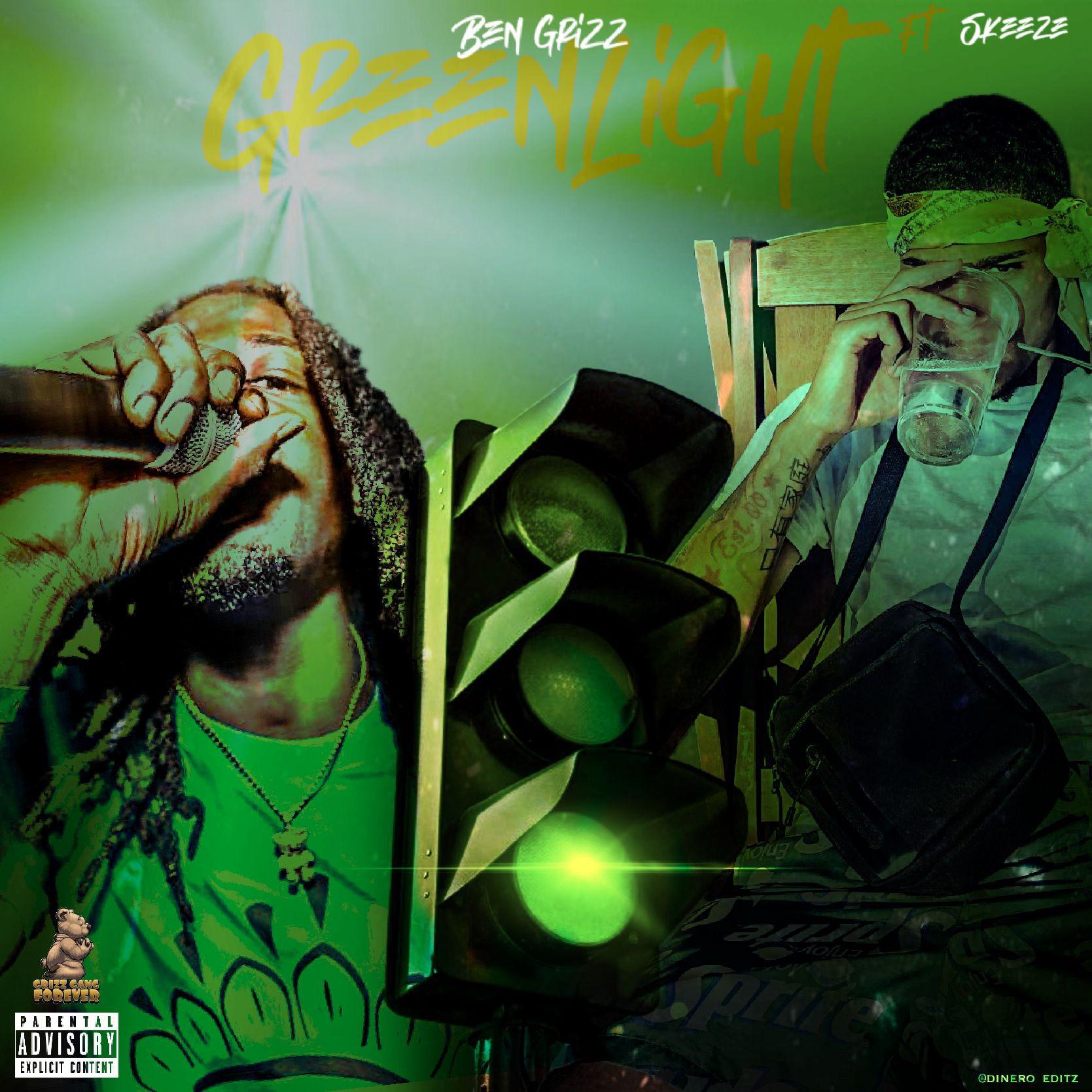 New Music: Ben Grizz Ft Skeeze – Green Light (@bengrizz978)